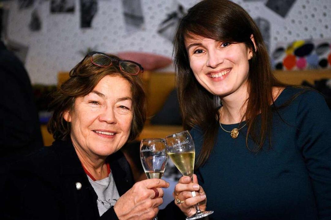 Die Stadträtinnen Maria Viethen (links) und Carolin Jenkner  | Foto: Thomas Kunz