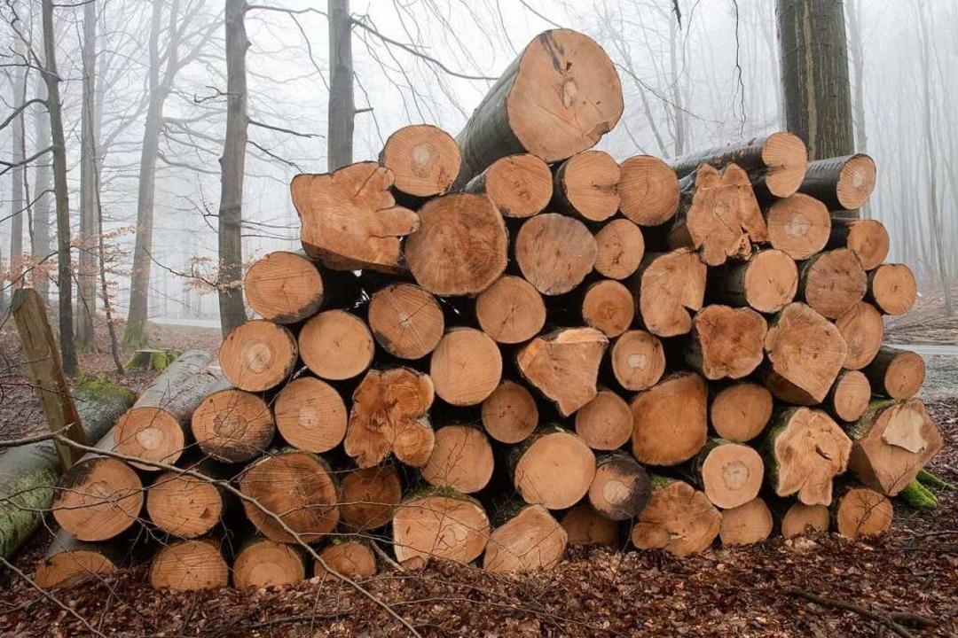 Holz aus dem Wald wird für vielerlei Dinge genutzt, zum Beispiel für Möbel.  | Foto: dpa
