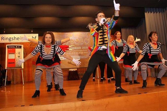 Die Tanzgruppen rocken das Bürgerhaus
