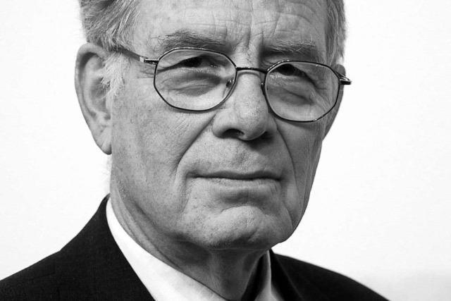 Früherer Verfassungsrichter und Freiburger Staatsrechtler Böckenförde gestorben
