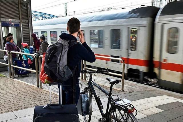 S-Bahn-Surfer sorgt in Freiburg für einstündige Sperrung der Gleise
