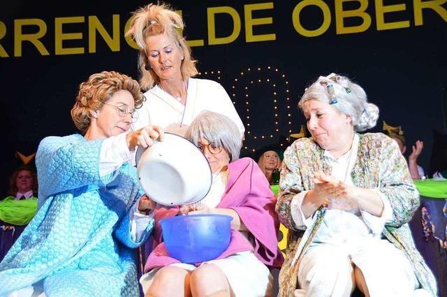 Bei den Brauchtumsabenden in Oberried gab's ein buntes Medley des närrischen Humors