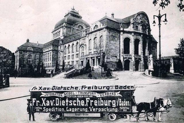 Das Möbel- und Transport-Unternehmen Franz Xaver Dietsche war im Sedanquartier beheimatet