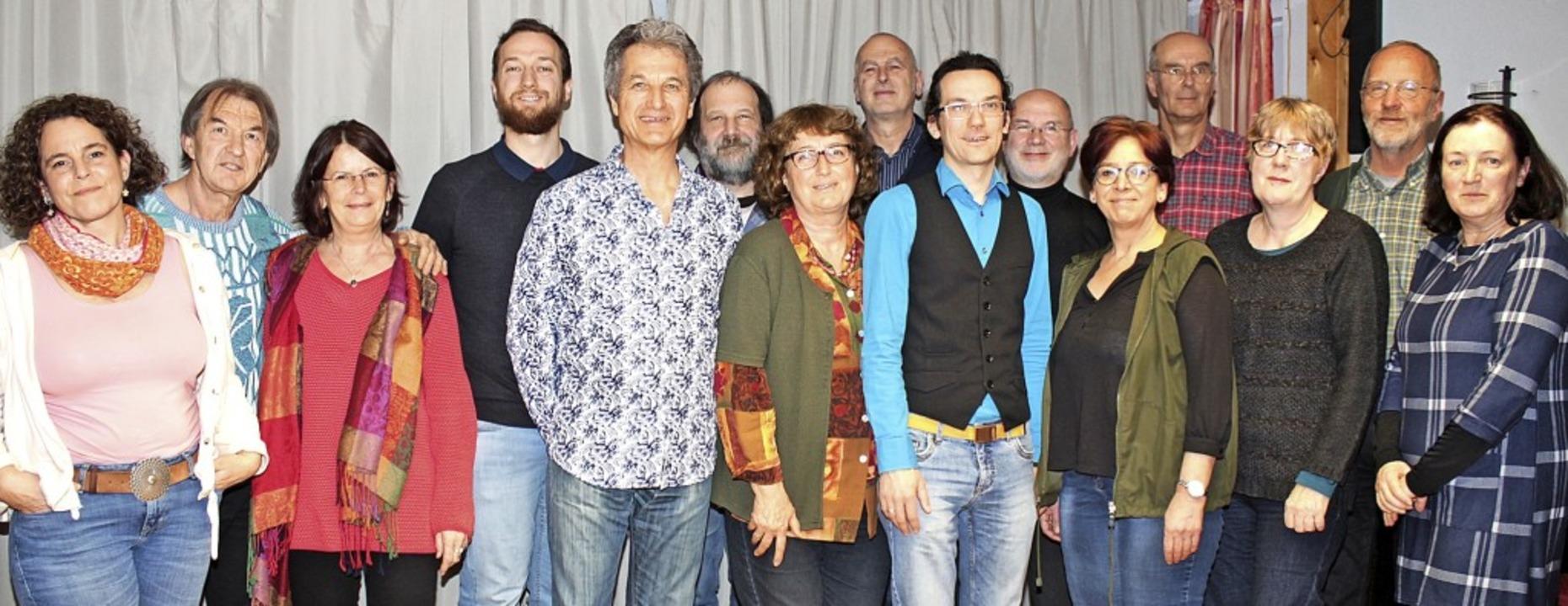 Für die Grünen in den Gemeinderat woll...nn,  Karl Schäfer und Gisela Schleidt.  | Foto: anja Bertsch