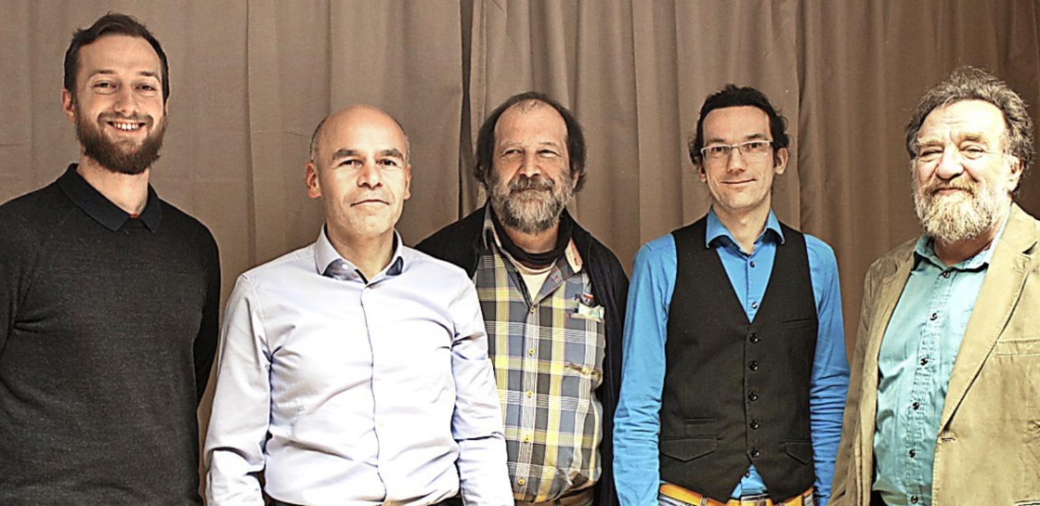 In den Kreistag wollen (von links) Fel..., Sebastian Prigge und Michael Straub.  | Foto: Anja Bertsch