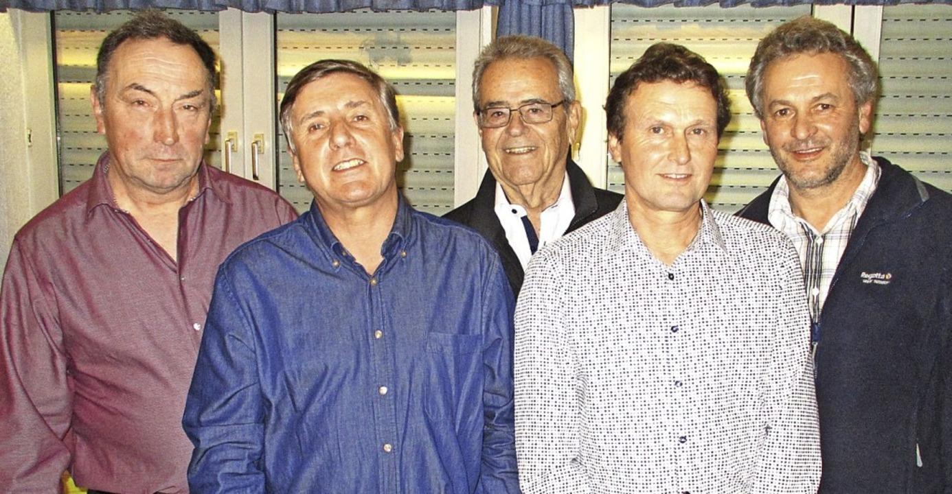 Neue Ehrenmitglieder sind (von links) ...Thomas Friedrich und Edwin Friedrich.   | Foto: Mario Schöneberg