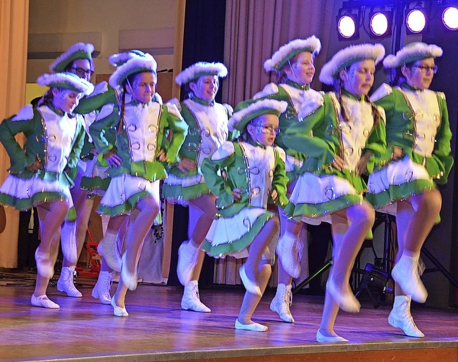 Die Todtmooser Tanzgarde präsentierte ...ynacht ihr neu einstudiertes Programm.  | Foto: Christiane Sahli
