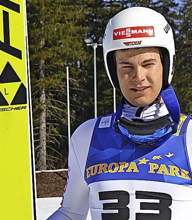 Skispringer Jonas Maier gewann im Springen und der Kombination jeweils Silber.   | Foto: Junkel
