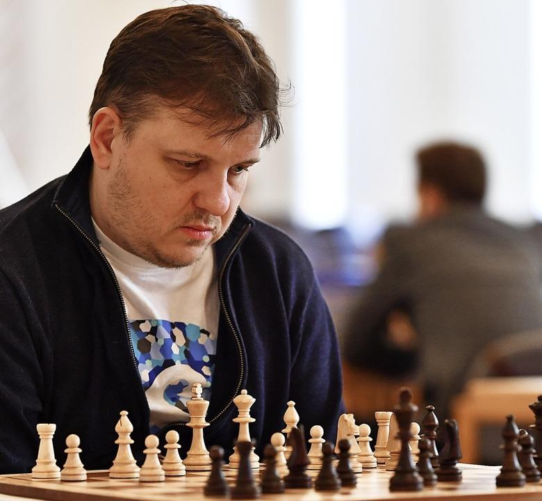 Das Bild täuscht: Vladimir Baklan trat...Emmendingen am Wochenende zwei Siege.     Foto: Keller