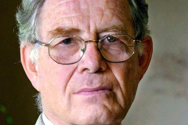 Ernst-Wolfgang Böckenförde war ein streitbarer Anwalt der Demokratie