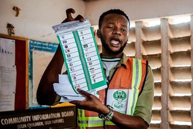 Weitgehend friedliche Wahl in Nigeria