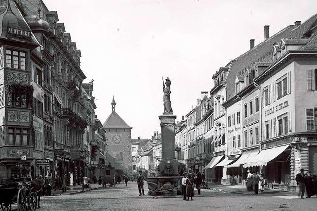 Ein neues Buch zeigt die Freiburger Wirtschaftsgeschichte zur Kaiserzeit