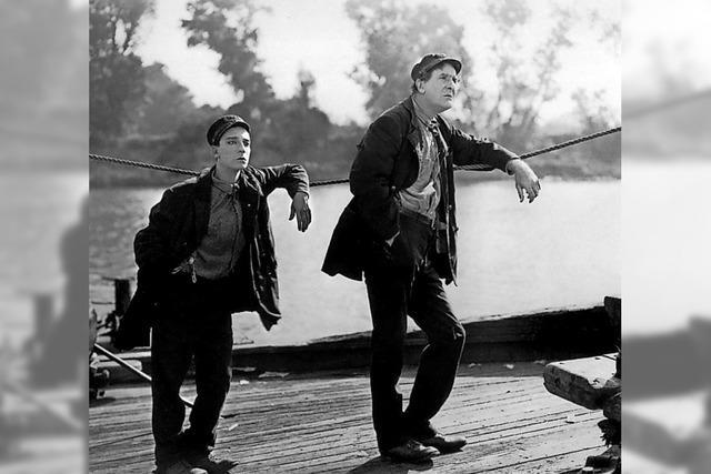 Buster Keaton und das Philharmonische Orchester