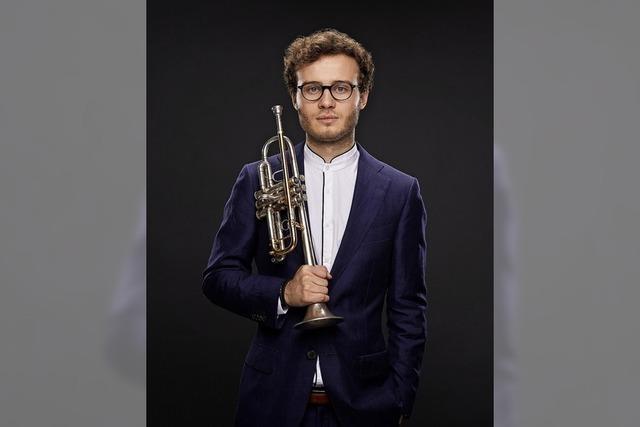 Trompeter Simon Höfele gastiert in der Reihe