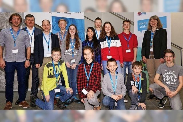 Beste junge Mathematiker kommen aus Waldshut