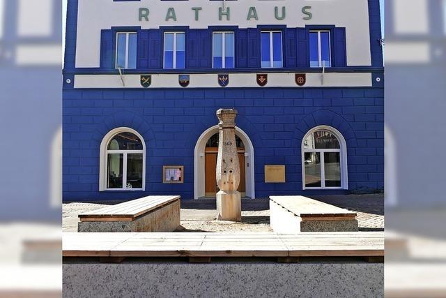 Baubeginn am Rathausplatz