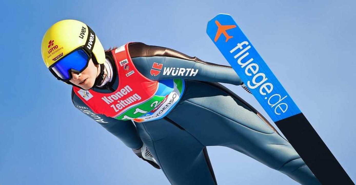 Ramona Straub segelt zu ihrem größten Triumph.  | Foto: dpa