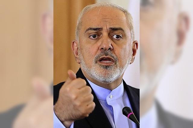 Irans Außenminister tritt zurück