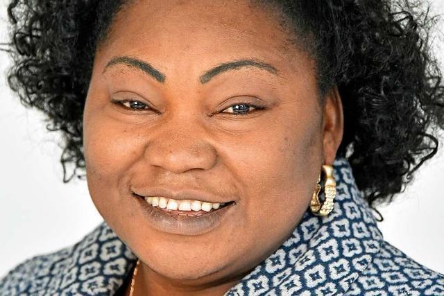 Sylvie Nantcha klärt mit Projekt in Afrika über Fluchtgefahren auf