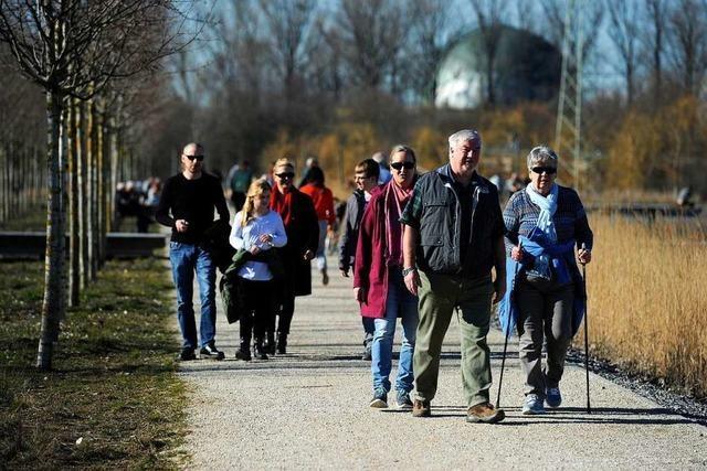 Landesgartenschau-Areal lockt weiter Besucher an