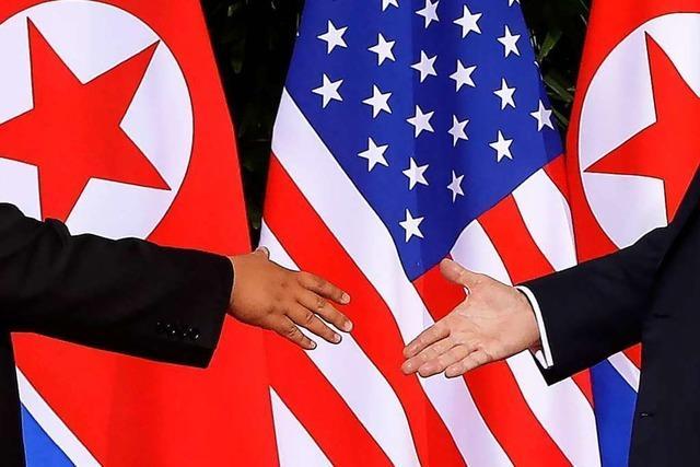Liveblog: Das Gipfeltreffen Trump und Kim