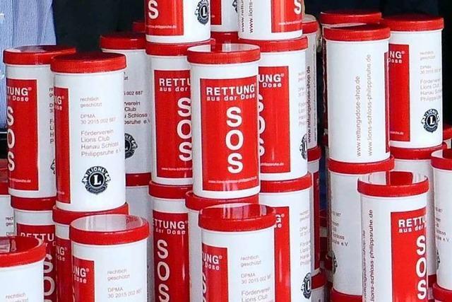 Rettungsdosen für den Notfall gibt es bald in Lörrach