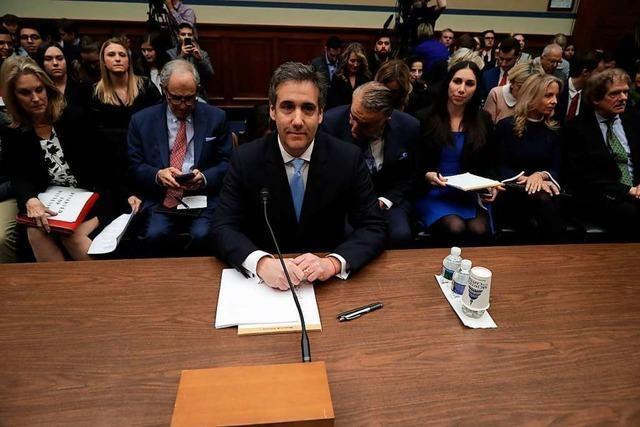 Livestream: Michael Cohen wird im Kongress angehört