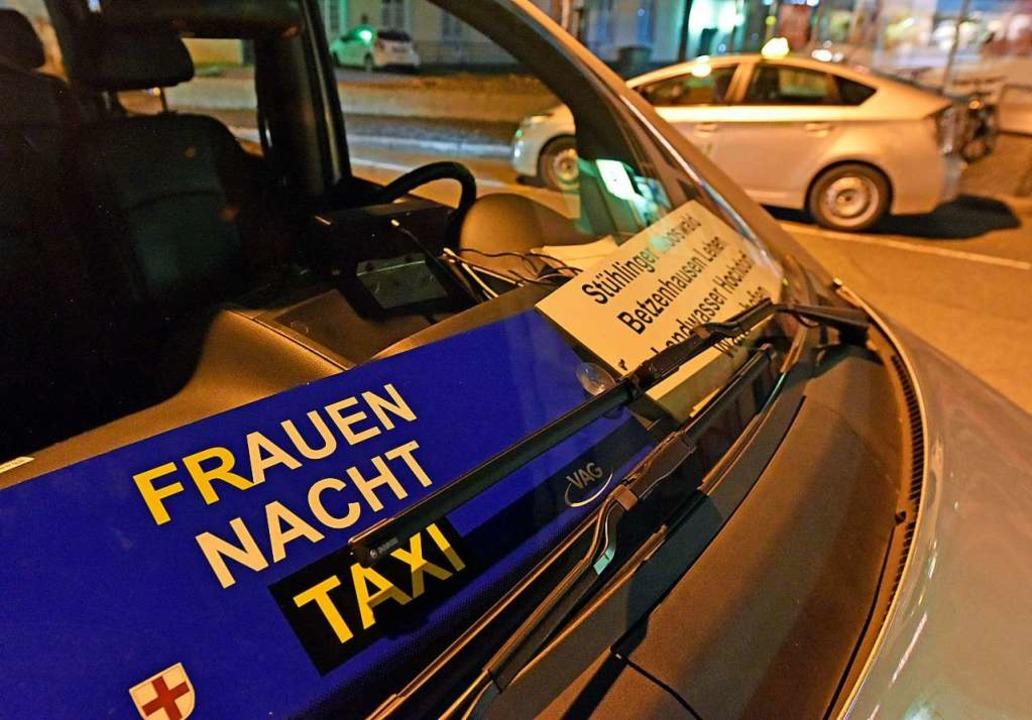 Das Frauen-Nacht-Taxi in Freiburg bekommt ein verändertes Konzept (Archivbild).  | Foto: Michael Bamberger