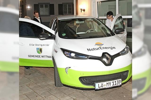 Eschbach setzt künftig auf ein Elektroauto