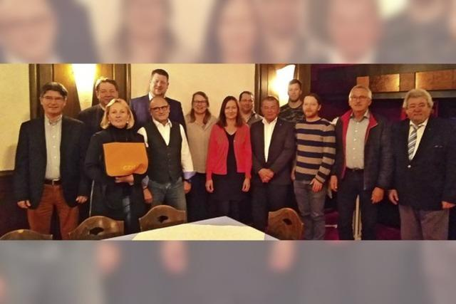 Die Kandidatenliste der Kanderner CDU