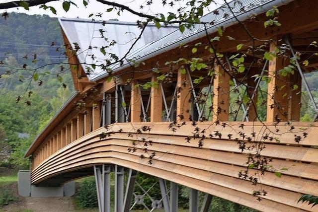 Holzbrücke am Grüttpark wird wetterfest gemacht