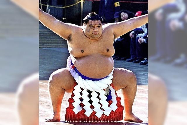 Kein Bart mehr im Sumo-Ring