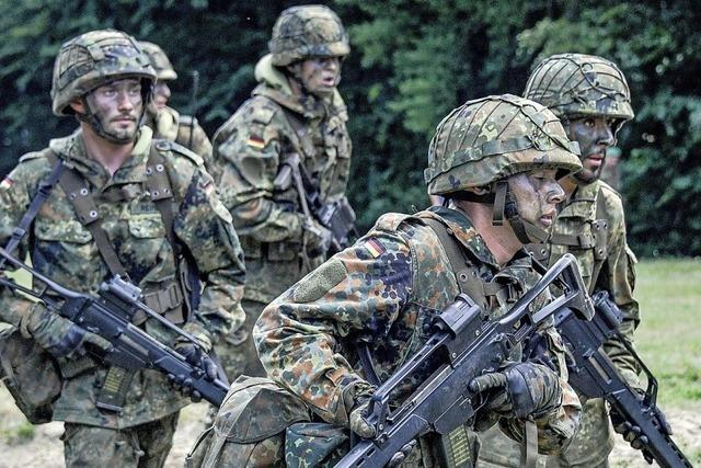 Bundeswehr soll bis 2025 auf mehr als 200 000 Soldaten wachsen