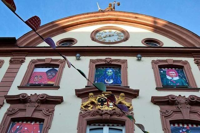 Auch im Offenburger Rathaus ist der