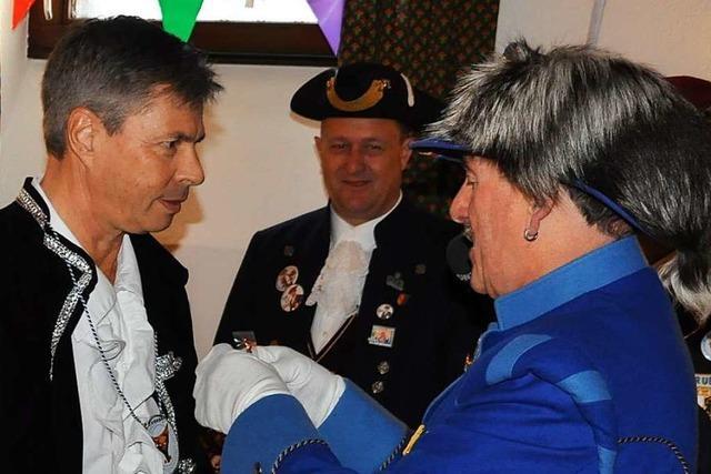 Schopfheims Altbürgermeister Christof Nitz hat den Dilldapp-Orden bekommen