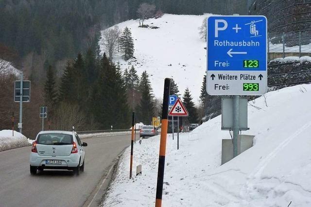 Neues Verkehrsleitsystem regelt den Verkehr auf dem Feldberg besser