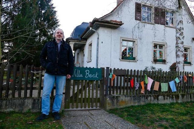 Mit Unterschriften für den Erhalt der Villa Beck