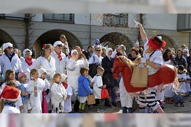 Die Kinderhemdglunker erobern das Rathaus
