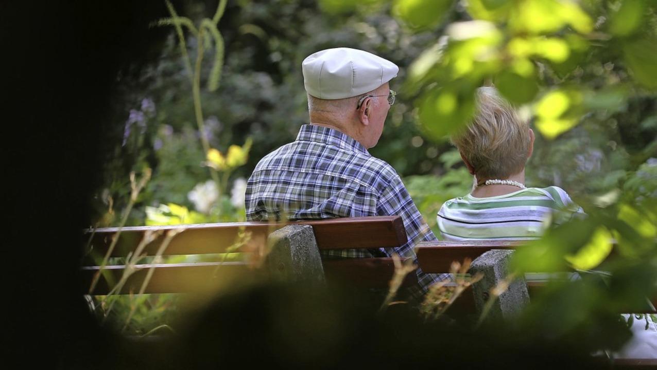 Wie wohl fühlen sich die Senioren in d... Ortsteilen? Das war eine der Fragen.   | Foto: Symbolfoto: DPA