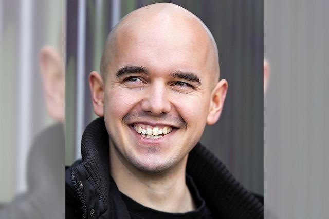 Comedian Renato Kaiser tritt im Kornhauskeller in Frick/Schweiz auf