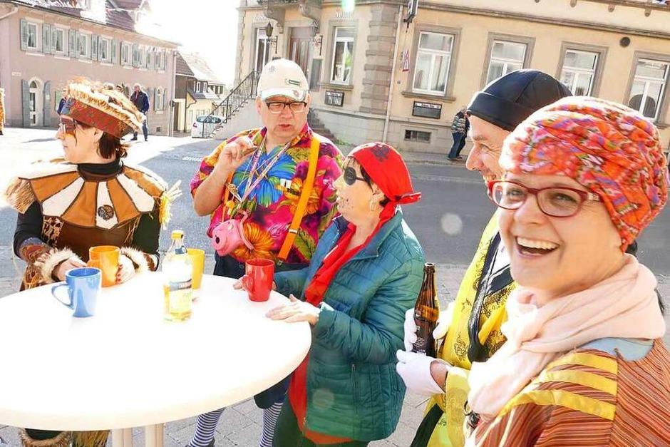 Die Narren regieren ab sofort in der Pflumeschluckerstadt Bonndorf. (Foto: Stefan Limberger-Andris)