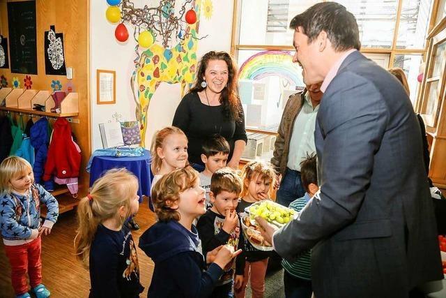 Die neue Gruppe im Schmieheimer Kindergarten ist eröffnet