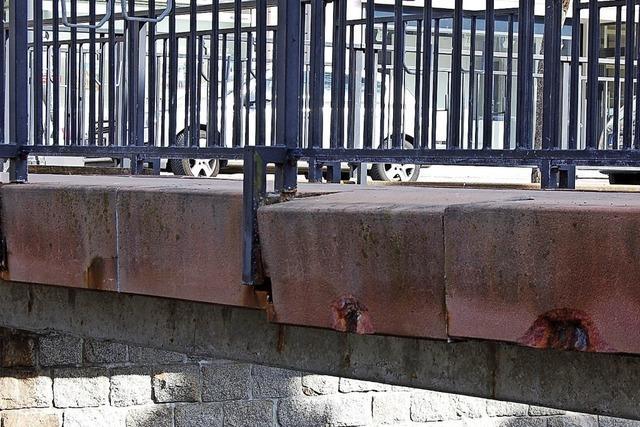 Behelfsbrücke für Zeit der Ochsensteg-Sanierung