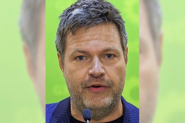 Robert Habeck bei den Grünen