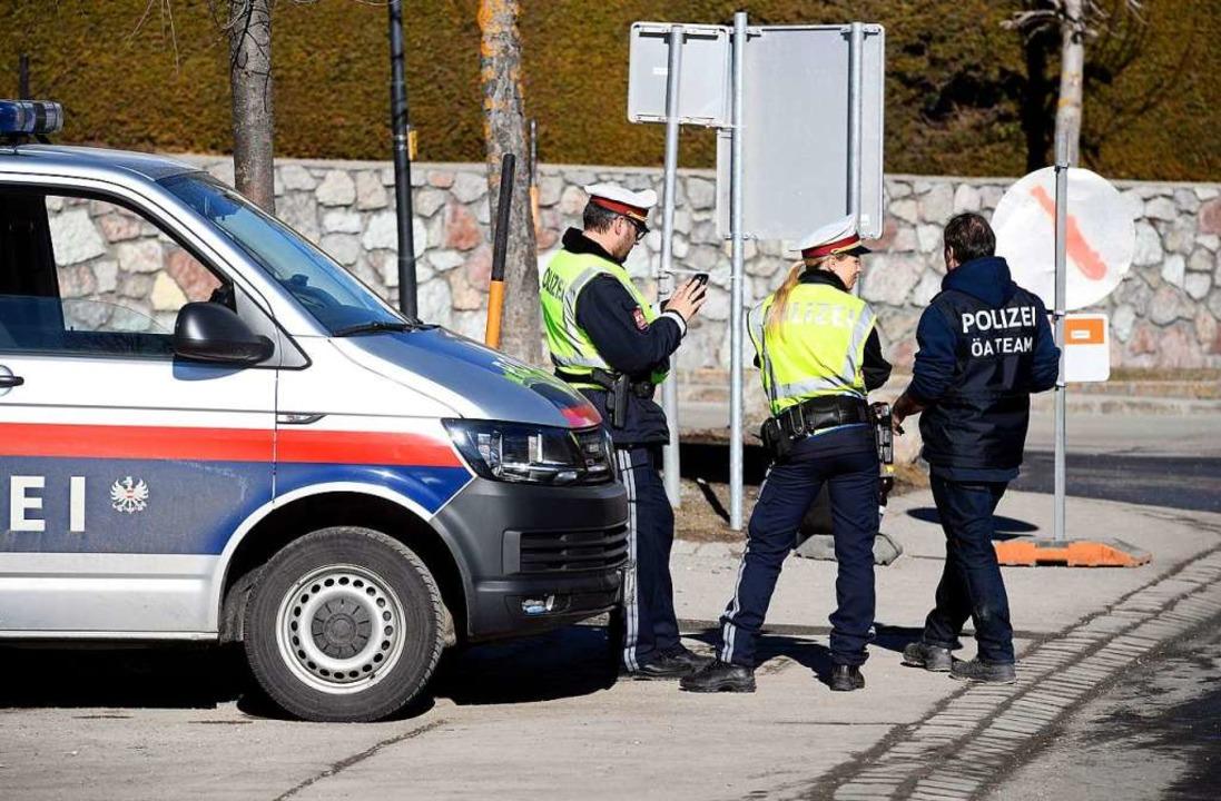 In Seefeld hat die Polizei bei der Nor...e Rolle übernommen: Kampf dem Doping.   | Foto: dpa