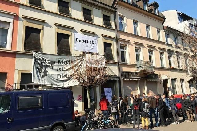 So reagiert der Eigentümer auf die Hausbesetzung in der Klarastraße