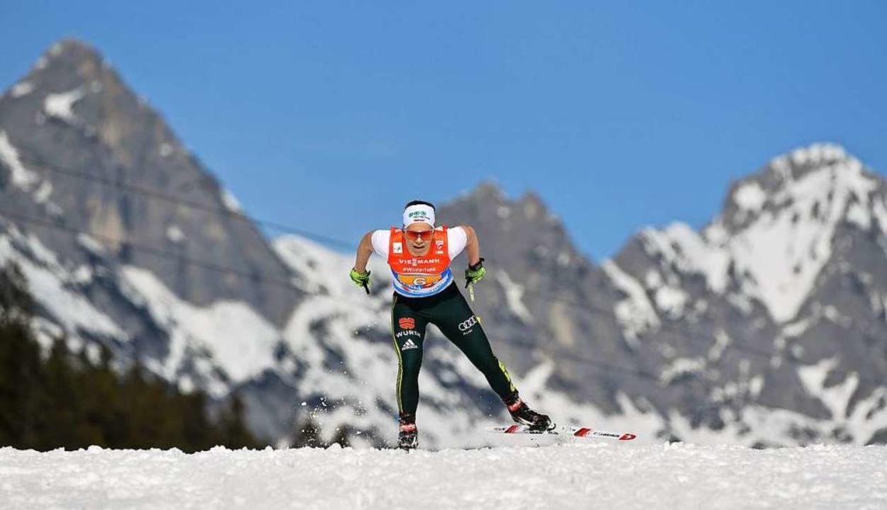 Alles rausgehauen in der Tiroler Bergw...sberg lief ein famoses Staffelrennen.   | Foto: dpa