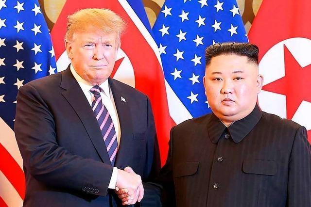 Donald Trump hat Recht: Im Umgang mit Nordkoreas Herrscher Kim muss er keine Eile haben