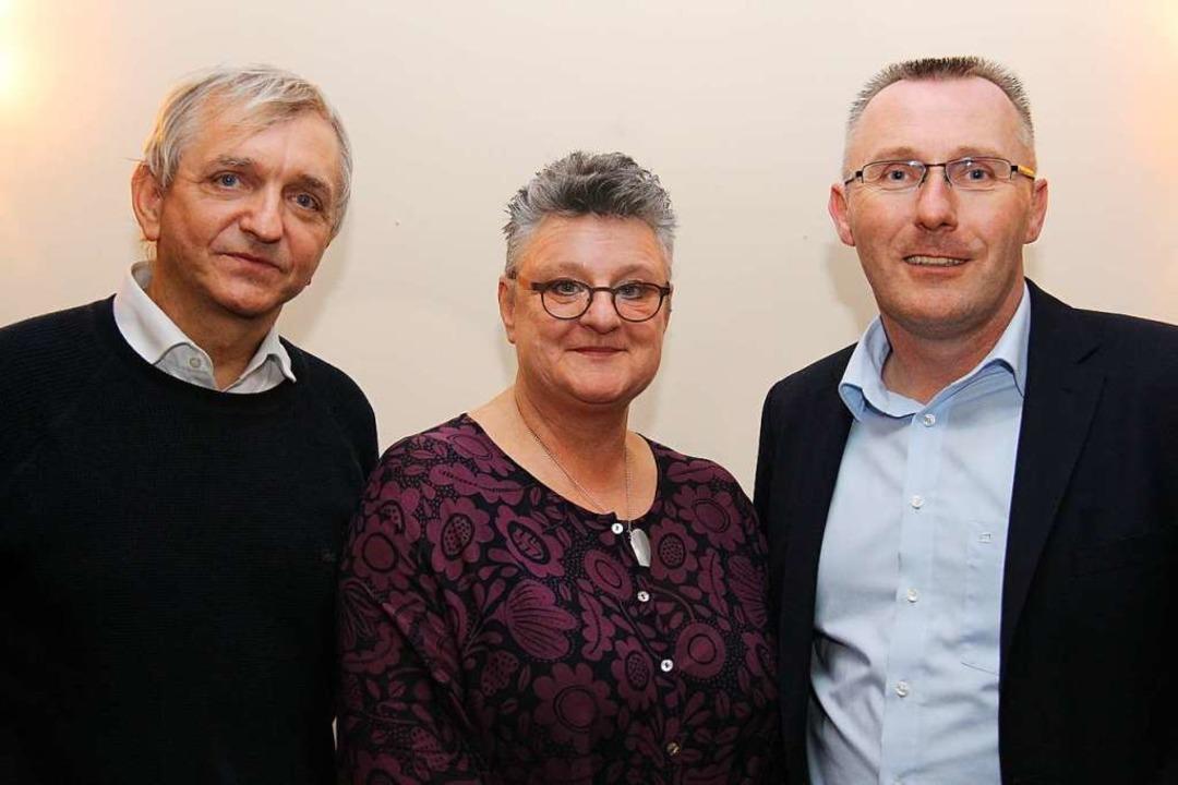 Das Spitzentrio der Freien Wähler für ...es Gröger, Petra Zimmermann, Kai Veser  | Foto: Freie Wähler