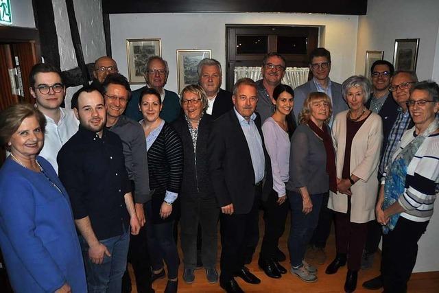 Das sind die Kandidaten der Gundelfinger CDU für die Kommunalwahl